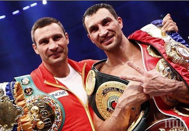 Братята Кличко остават верни на Украйна