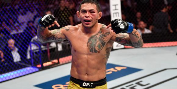 Диего Ферейра отпадна от UFC Fight Night 193