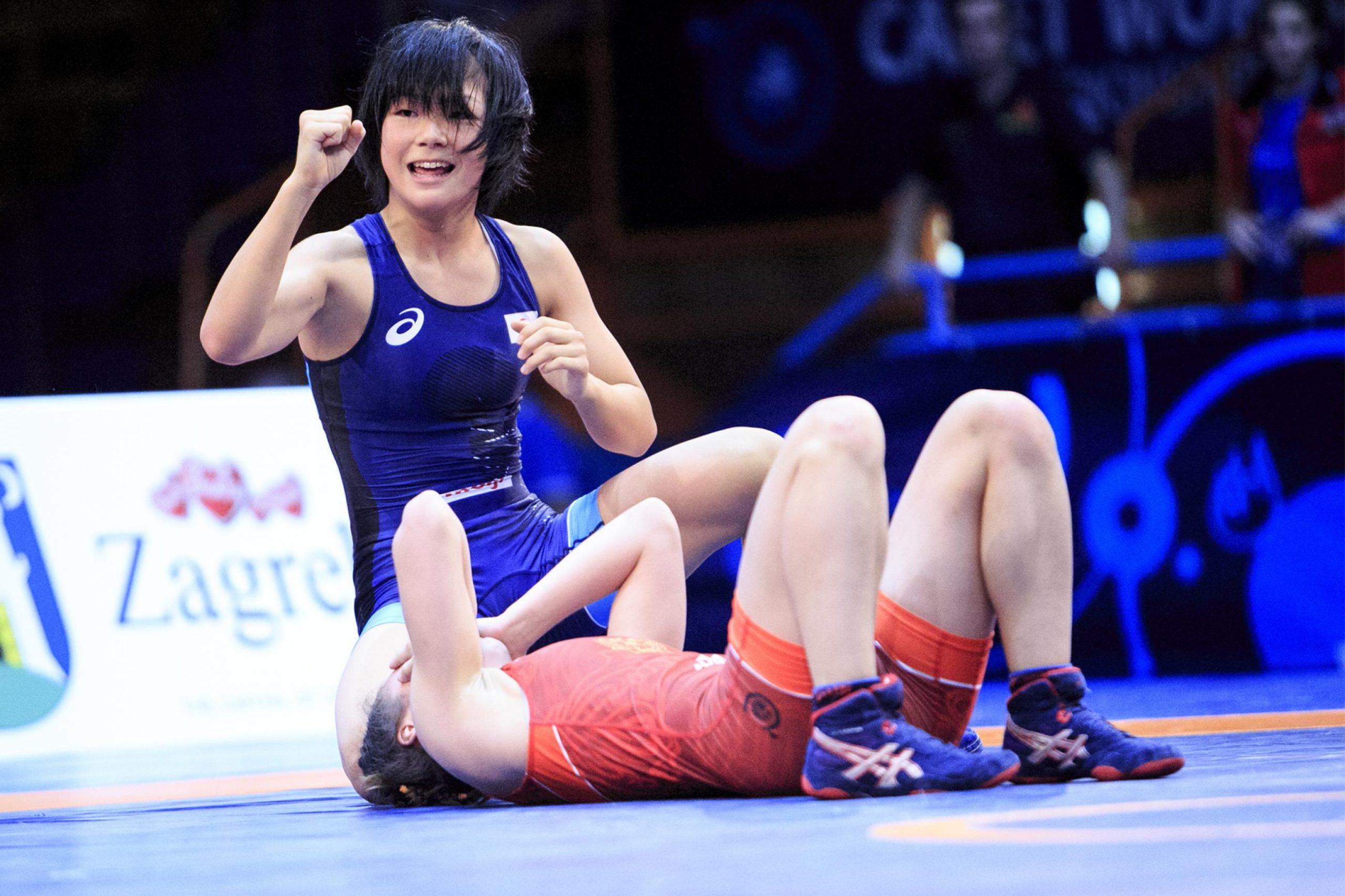 Сензация! 17-годишна спечели световна титла в борбата (ВИДЕО)