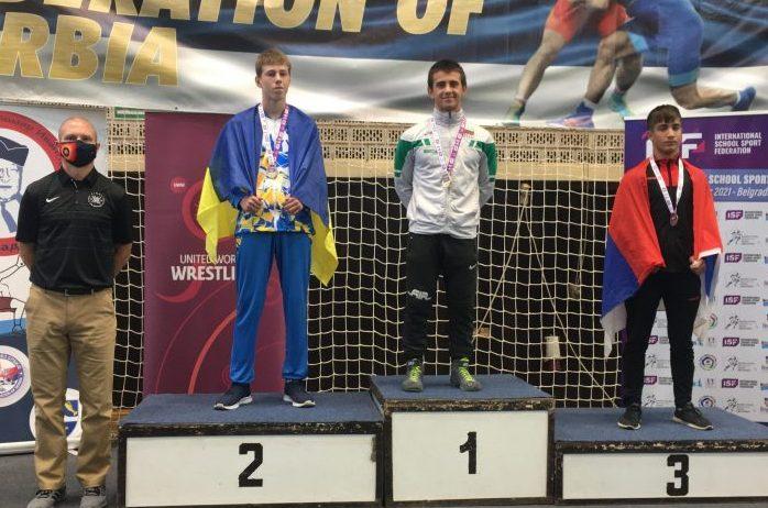 България със златен медал в борбата от Световните ученически игри