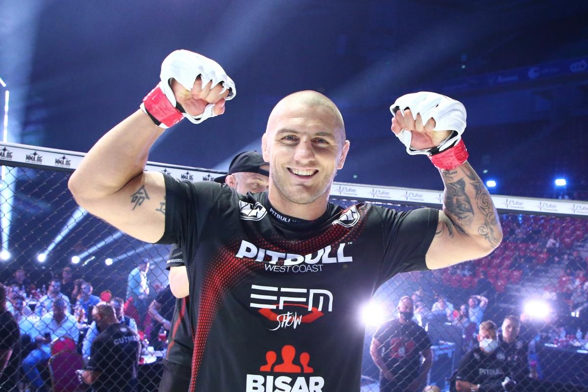 Експресна победа за Владислав Кънчев над опитен бразилец