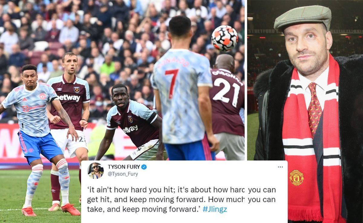 Тайсън Фюри надъха футболист на Манчестър Ю с цитат от Роки
