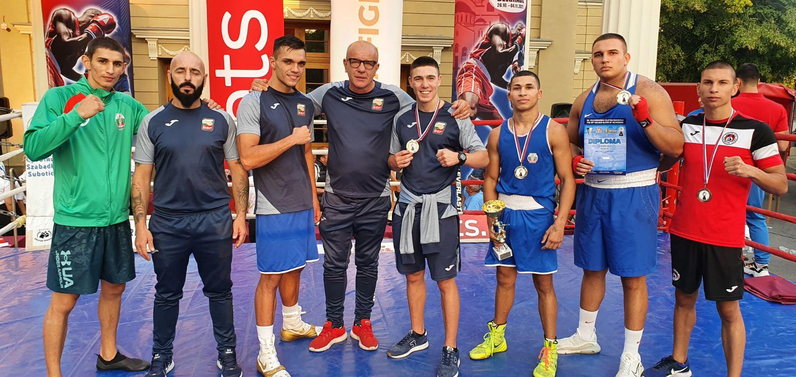 Радо Росенов боксьор №1 на турнира в Сърбия