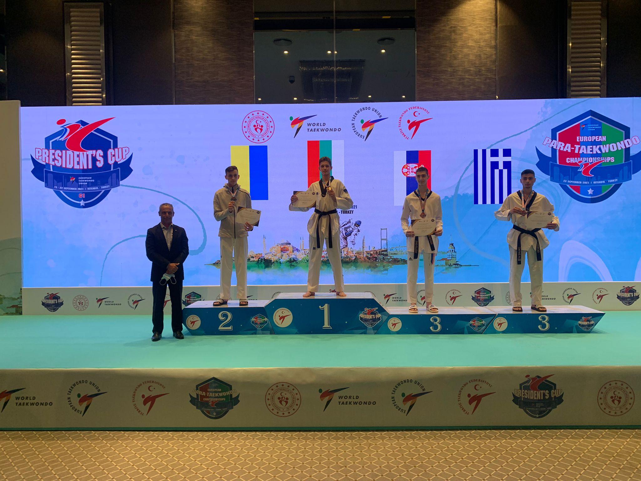 Злато и първо място в ранглистата за Денис Димитров-Рицаря
