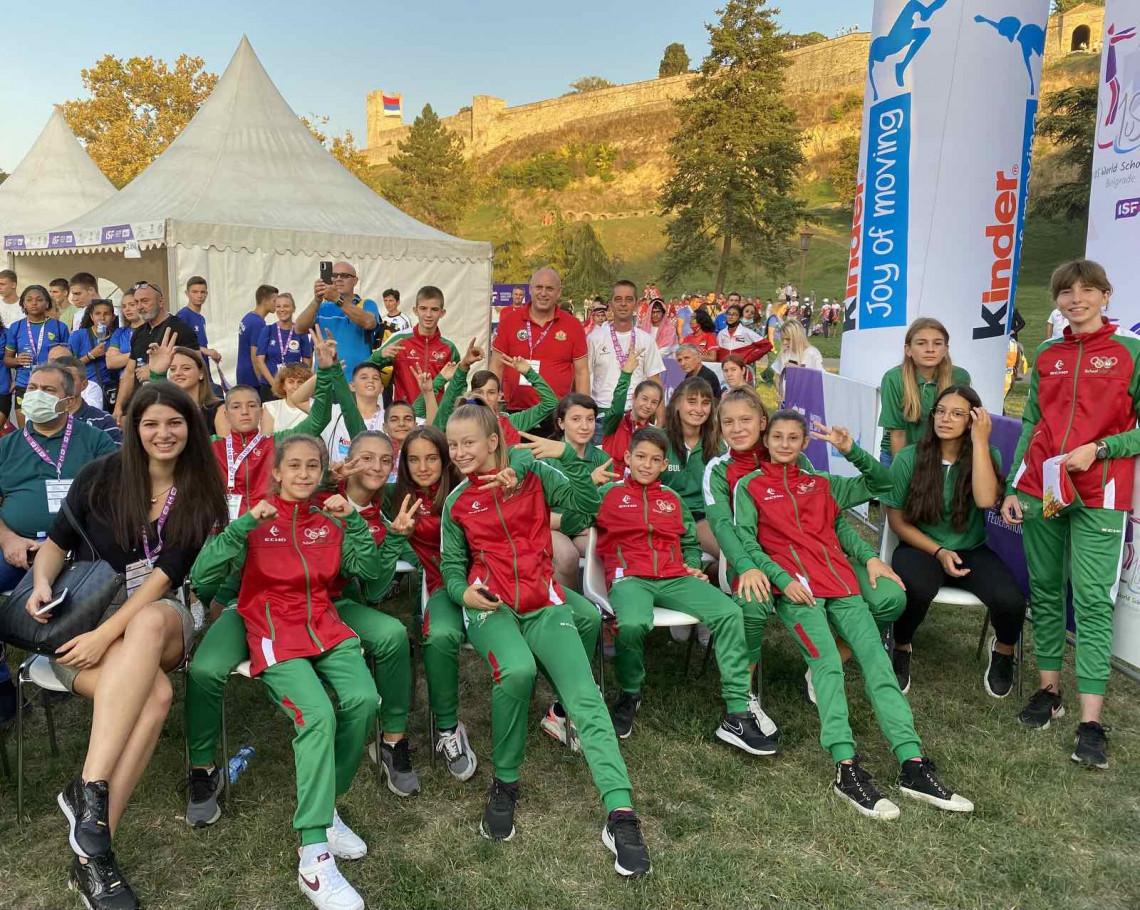 С песни и танци закриха Световните ученически игри (ГАЛЕРИЯ)
