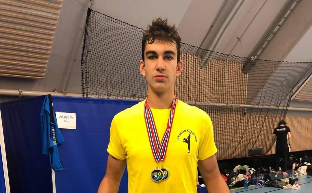 Кикбоксьорът Кристиян Мавров спечели два златни медала в Осло