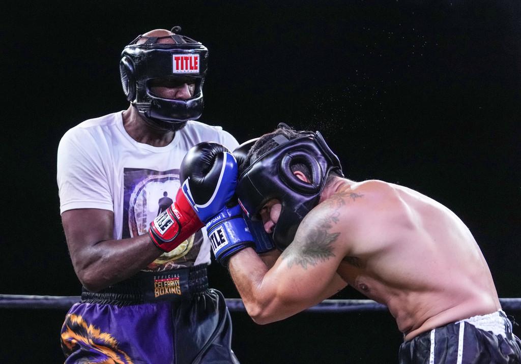 Ламар Одом с нова боксова победа (видео)