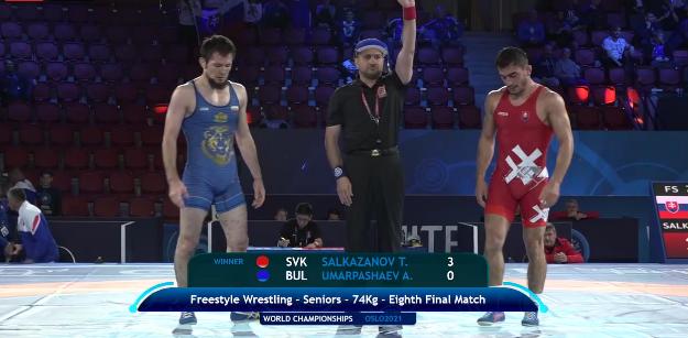 Еврошампионът срази Умарпашаев